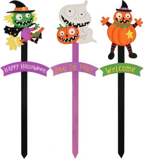 1 Halloween Themed Yard Stick Decoration 63cm